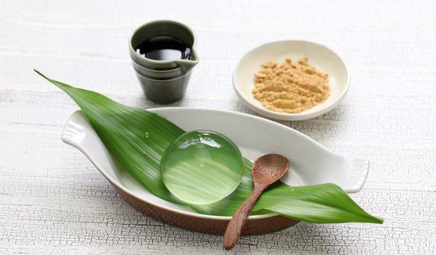 Капля дождя — японский десерт из воды