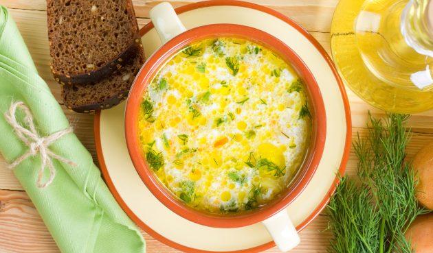 Суп из свинины с рисом