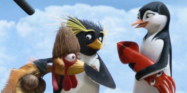 Мультфильмы про птиц: «Лови волну!»