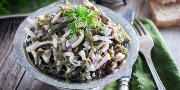 Морская капуста идеально подходит именно для этих блюд. Берите на заметку