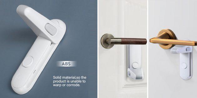 Как обеспечить безопасность детей дома: блокиратор дверной ручки