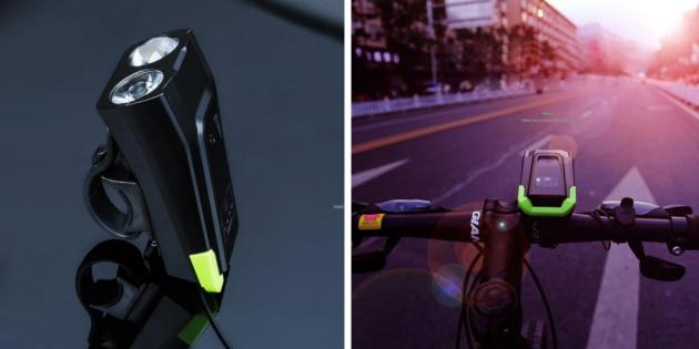 Смарт-фонарь для велосипеда