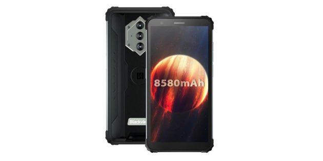Смартфоны с мощными аккумуляторами: Blackview BV6600