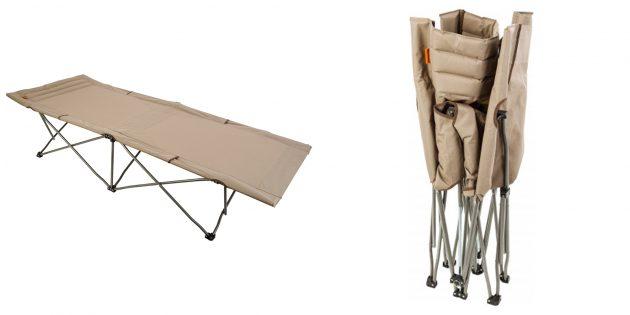 Складная мебель: кровать‑раскладушка Outventure