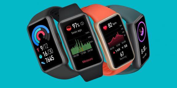 Представлен Huawei Band 6 — то ли фитнес-браслет, то ли умные часы