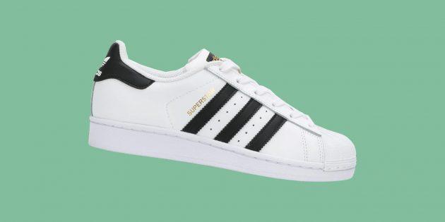 Культовые брендовые кроссовки: Adidas Superstar