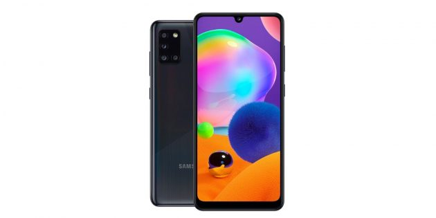 Смартфоны с мощными аккумуляторами: Samsung Galaxy A31