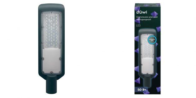 Садовые светильники: яркий LED‑фонарь