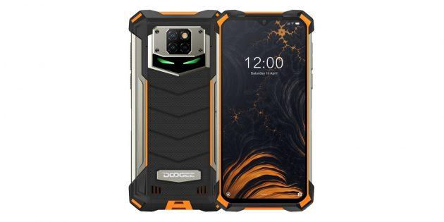 Смартфоны с мощными аккумуляторами: Doogee S88Plus