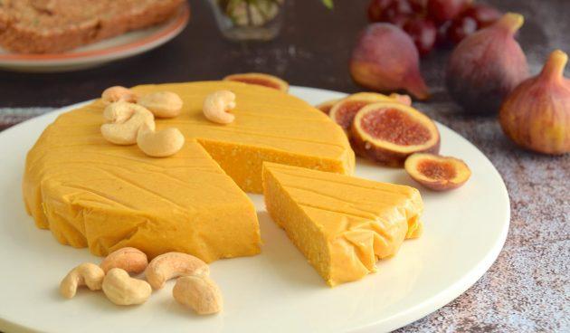 Веганский сыр из кешью