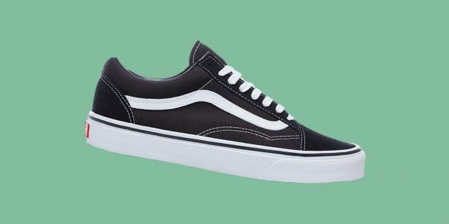 Культовые брендовые кроссовки: Vans Old Skool