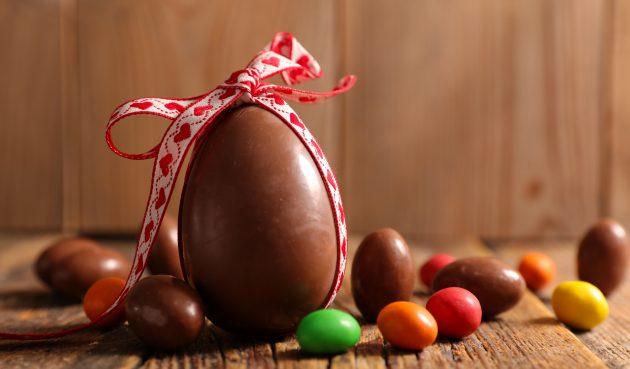 Шоколадные яйца с сюрпризом