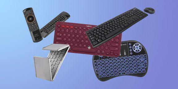 7 качественных беспроводных клавиатур с AliExpress