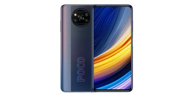 Смартфоны с мощными аккумуляторами: Poco X3Pro
