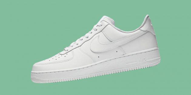 Культовые брендовые кроссовки: Nike Air Force 1