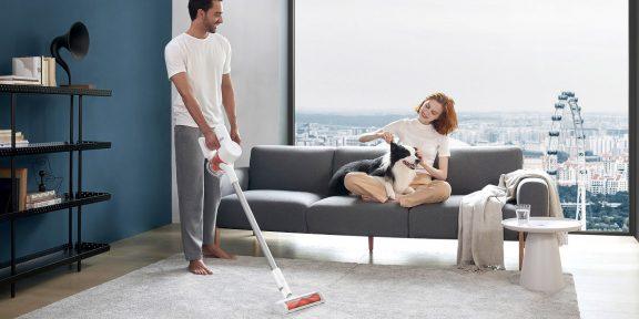 Цена дня: вертикальный пылесос Xiaomi Mi Handheld Vacuum Cleaner Pro G10 за 14954рубля