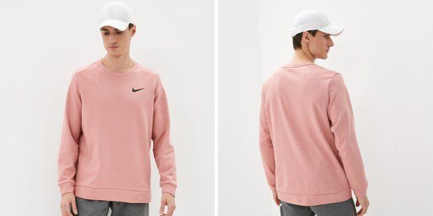 Мужская одежда casual: свитшот Nike