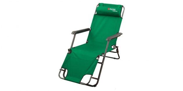 Складной стул — кресло‑шезлонг