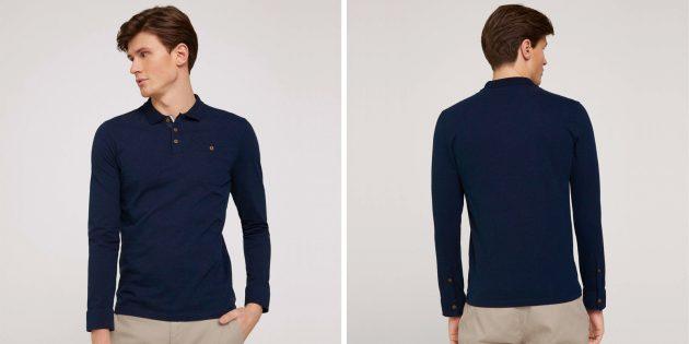 Мужская одежда casual: поло Tom Tailor