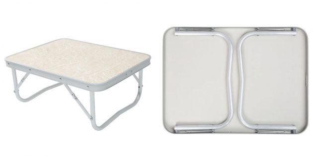 Низкий раскладной стол