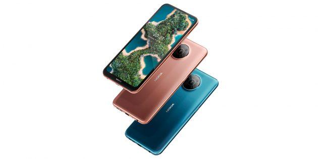 Новые смартфоны 2021: Nokia X20