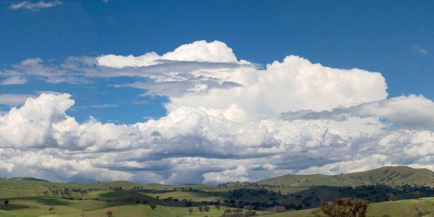 Облака тяжёлые