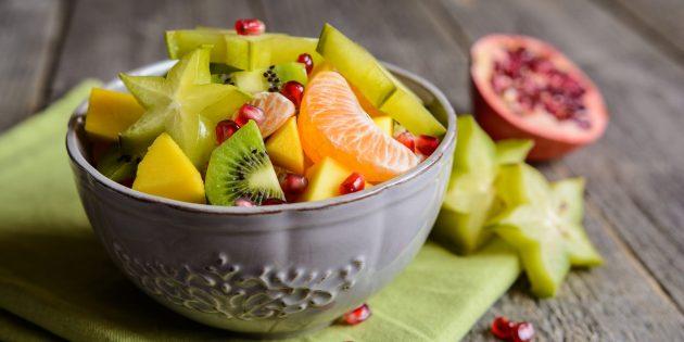 Как есть карамболу: сделайте фруктовый салат