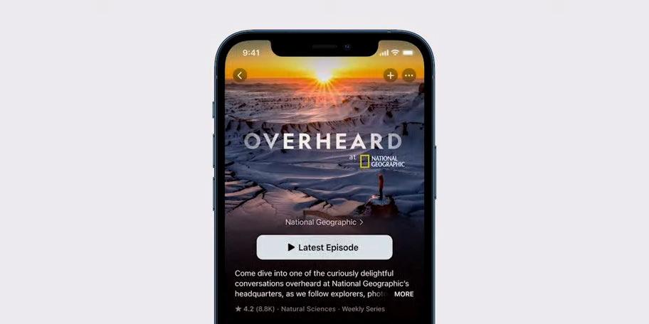 Apple анонсировала масштабное обновление приложения «Подкасты»