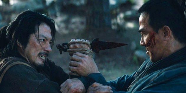 Кадр из фильма «Мортал Комбат» 2021 года