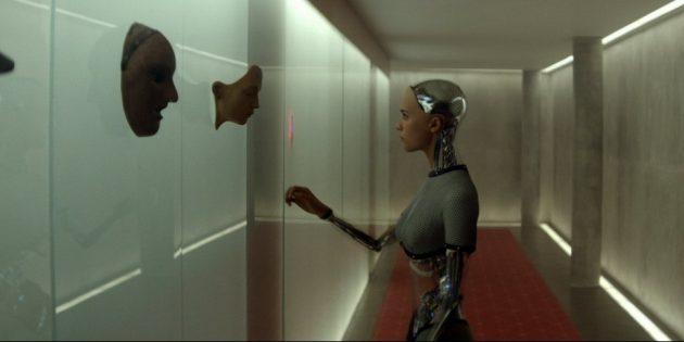 Фильмы про хакеров и программистов: «Из машины»