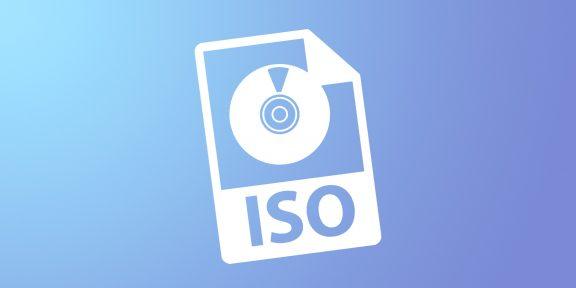 Как установить файл ISO