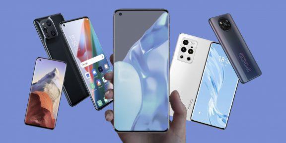 Лучшие смартфоны марта