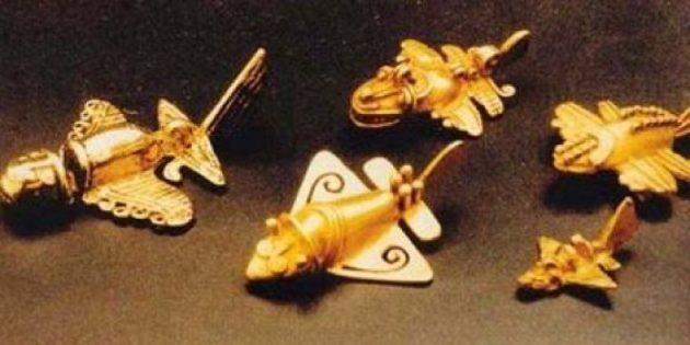Технологии древних цивилизаций: фигурки самолётов
