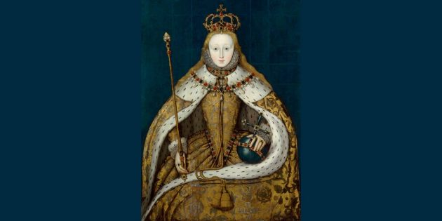 История косметики: «Королева Елизавета I», копия картины XVI века.