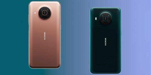 Nokia представила X10 и X20 — доступные смартфоны с необычным дизайном камеры