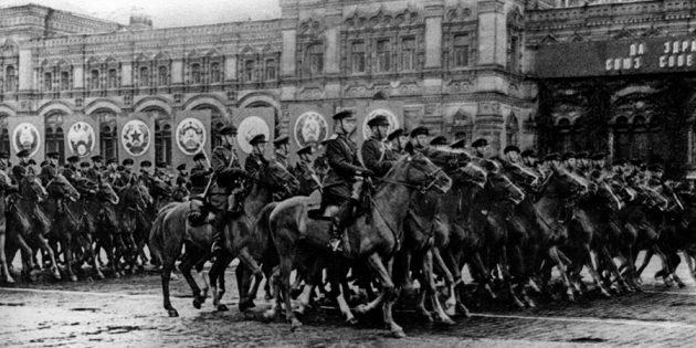 Парад Победы на Красной площади 24июня 1945г.