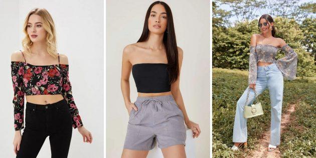 Женская мода лета-2021: топы или бюстгальтеры без косточек