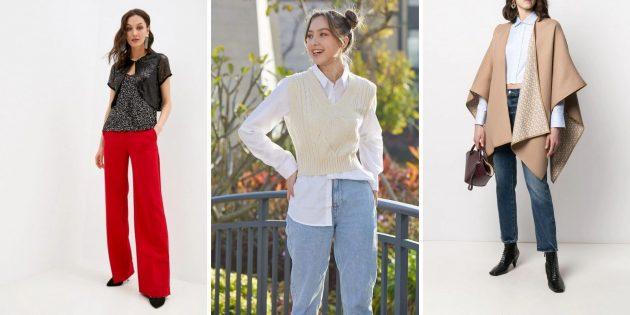 Женская мода весны-2021: накидки