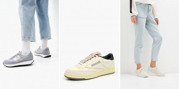 Модные мужские и женские кроссовки — 2021: стиль ретро