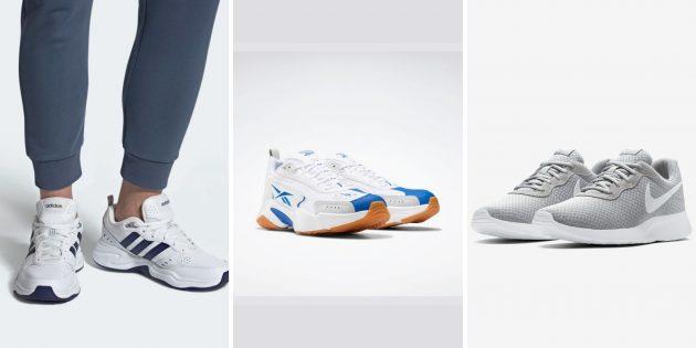 Модные женские и мужские фитнес-кроссовки