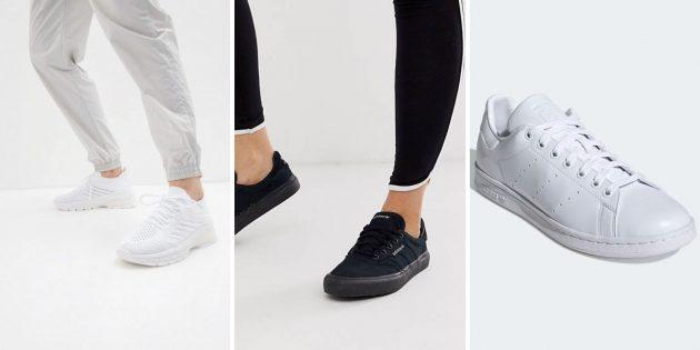 Минималистичные женские и мужские модные кроссовки