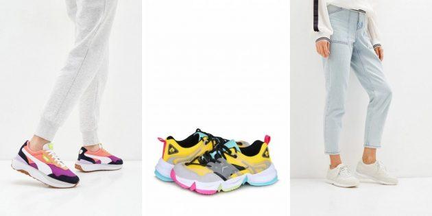Модная женская обувь весны-2021: кроссовки