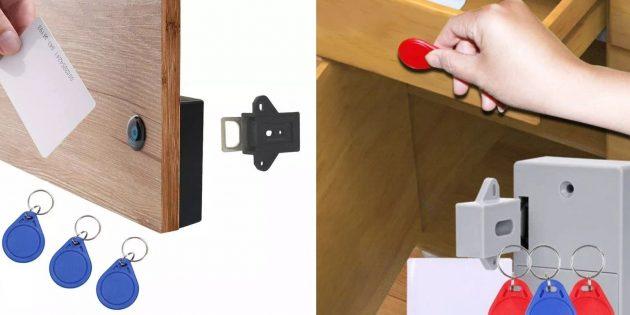 Запорный механизм с ключом доступа