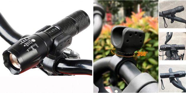 Фонарь-трансформер для велосипеда