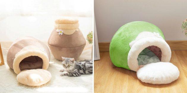Домик-трансформер для кошки