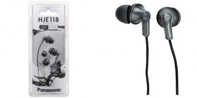 Проводные наушники Panasonic
