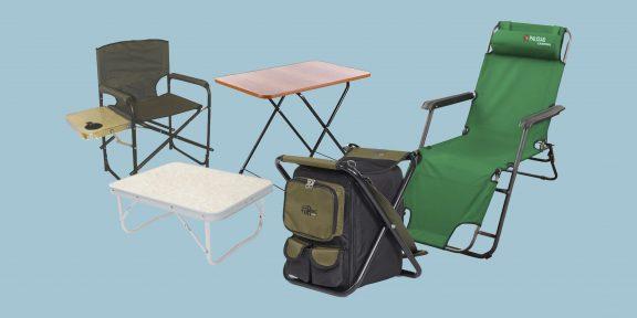 10 моделей надёжной складной мебели для походов и отдыха на природе