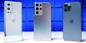 Автономность OnePlus 9 Pro, Galaxy S21 Ultra и iPhone 12 Pro Max сравнили на видео