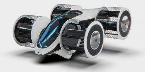 В России начали создавать летающий автомобиль «Циклокар»