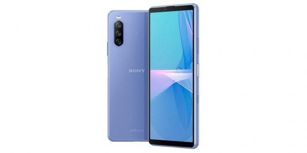 Новые смартфоны 2021: Sony Xperia 10III